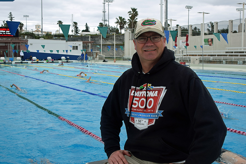 Head Coach of the Oakville Club, Sean Baker