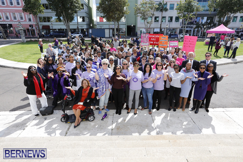 International Women's Day Bermuda March 8 2019