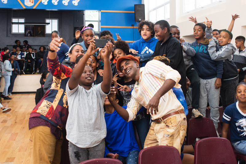 Marcus Samuelsson assembly at Dellwood Middle School, Bermuda March 2019 (4)