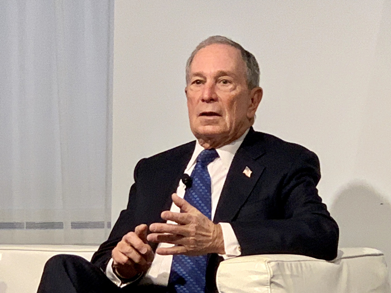 Michael Bloomberg Bermuda March 2019