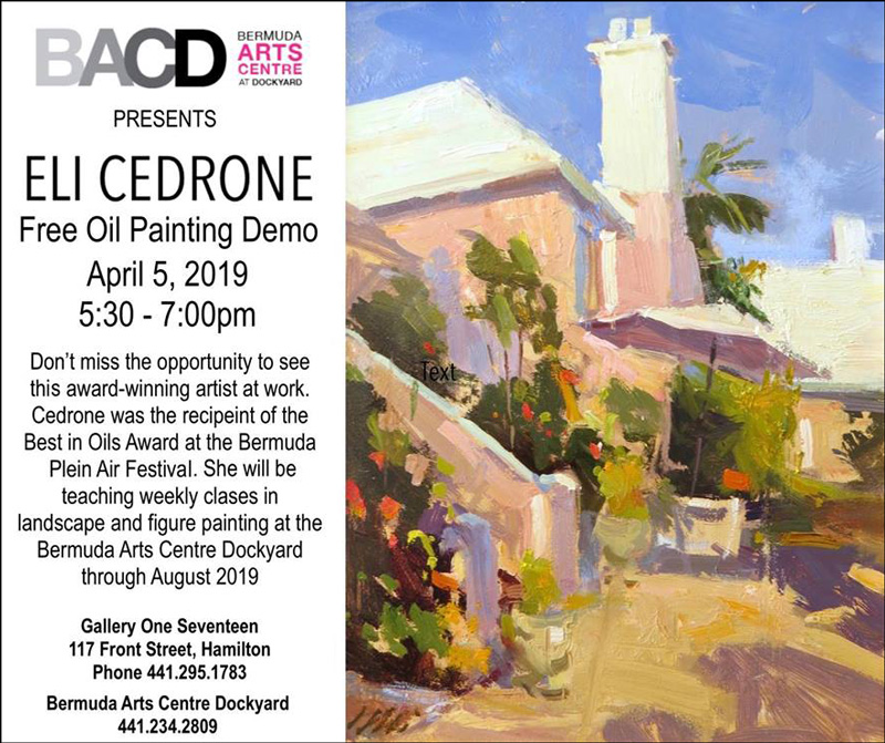Oil painting demo Eli Cedrone