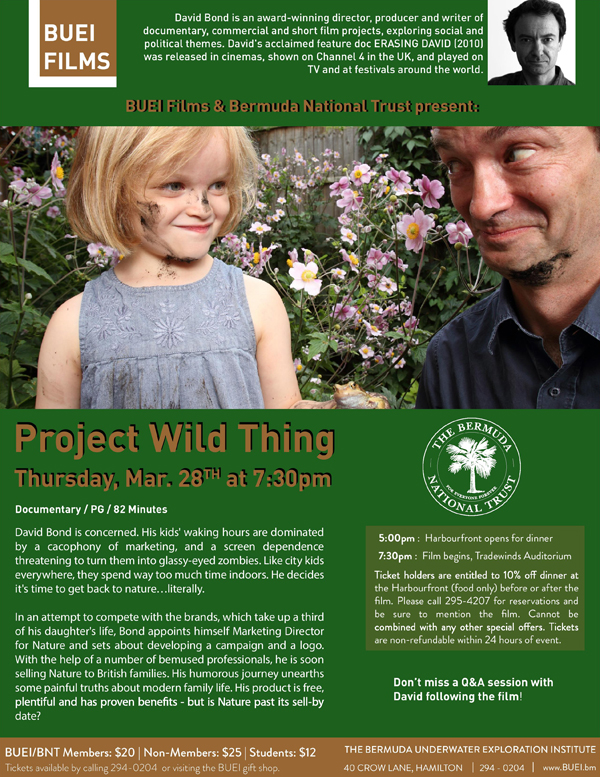 Project Wild Thing Bermuda March 2019
