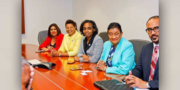 Representatives of CCRIF SPC Bermuda March 2019 (2)