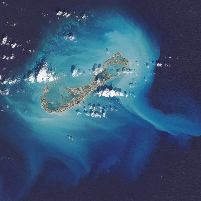 Storms Stir Up Sediment in Bermuda