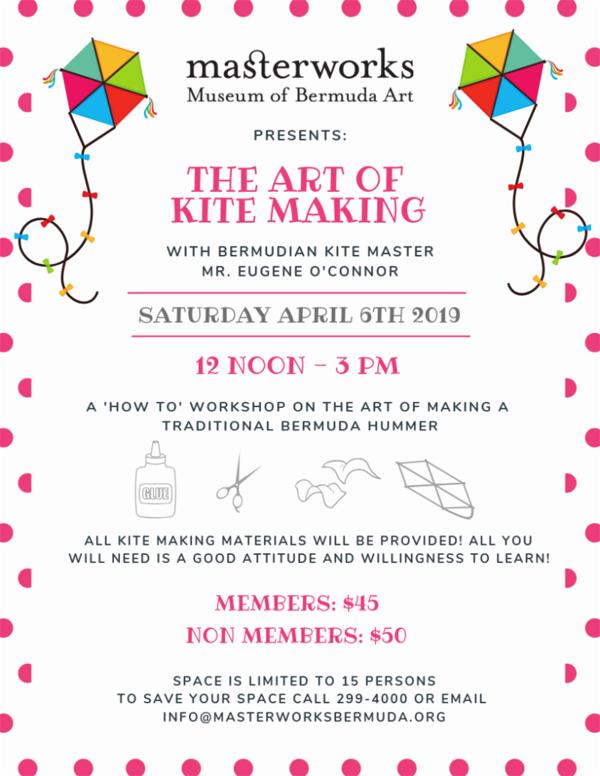The Art of Kite Making Bermuda April 2019