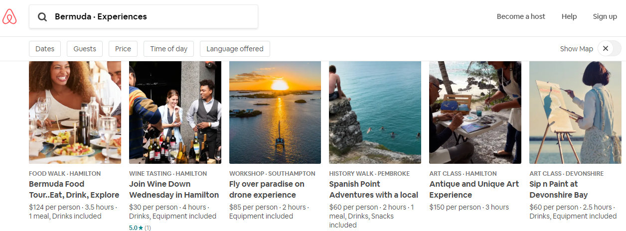 Airbnb & BTA Launch Experiences In Bermuda - Bernews