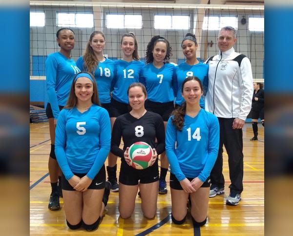 U18 Volleyball Team Bermuda March 2019