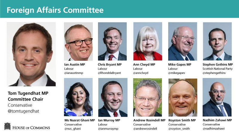 UK Foreign Affairs Committee March 2019