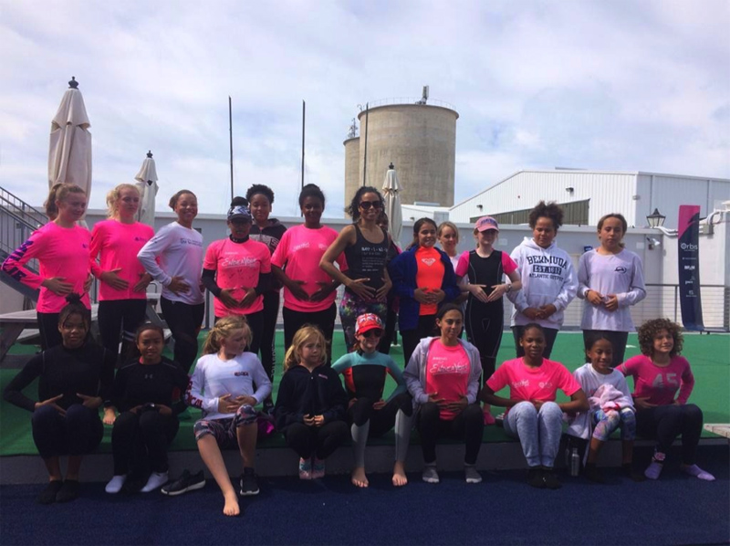 Women on the Water Clinic  Bermuda March 2019 (4)