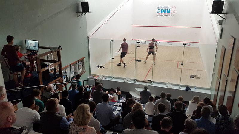 squash Bermuda March 6 2019