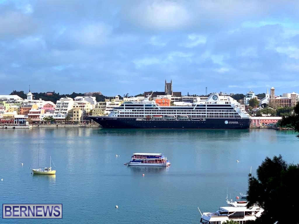 Azamara Journey Cruise Ship in Hamilton - Bernews