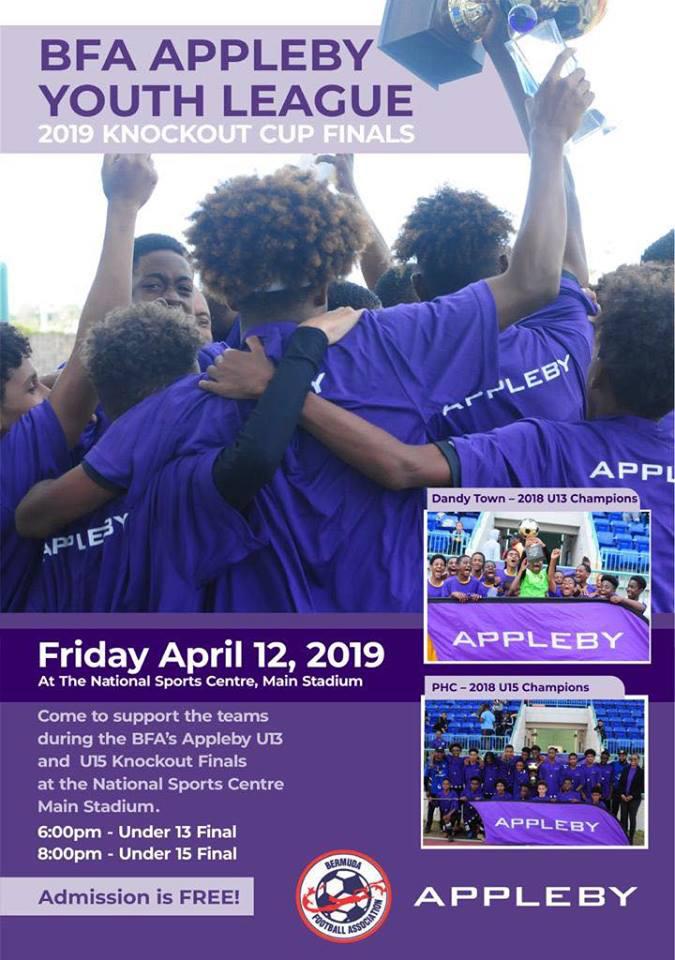 BFA Appleby Youth League Bermuda April 2019