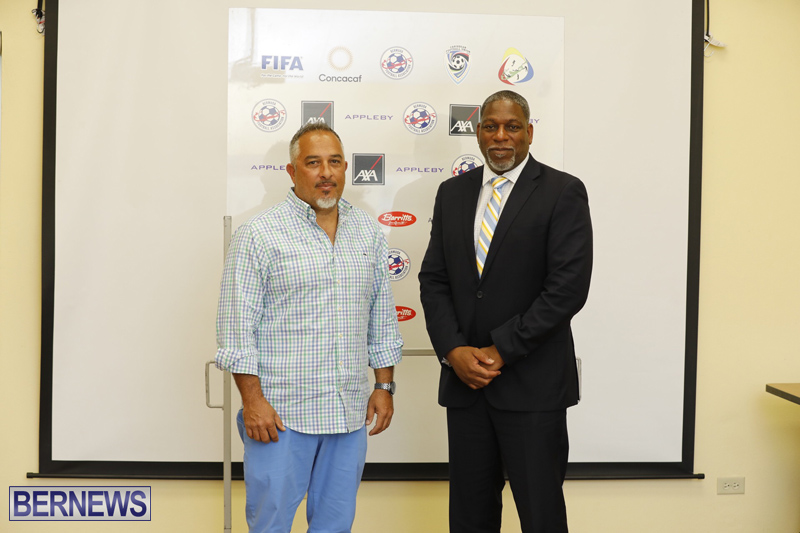 BFA President Press Conference Bermuda April 2019