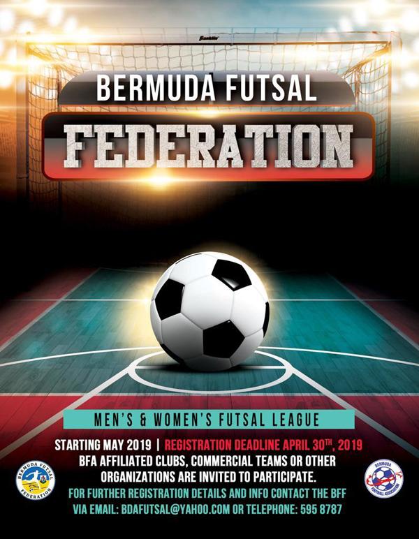 BFF Futsal League Bermuda April 2019