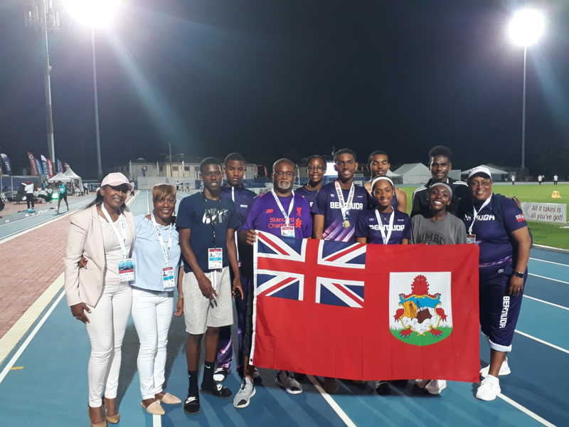 Bermuda's 2019 Carifta Athletics Team