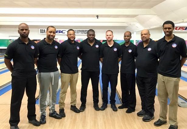 Bermuda's National Men's Bowling team April 2019