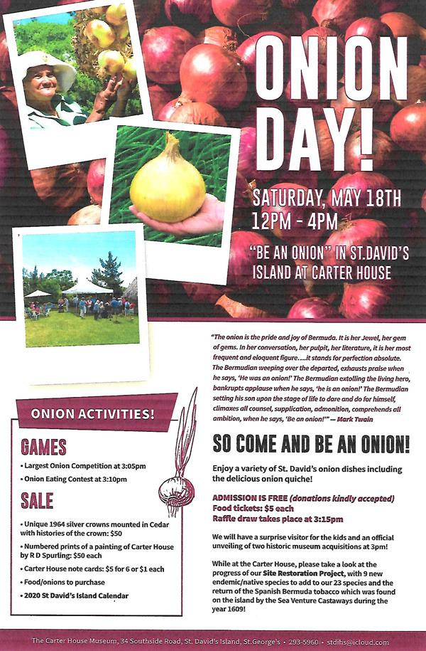 Bermuda Onion Day May 2019
