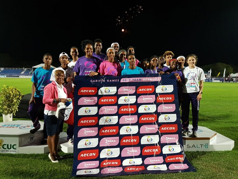 CARIFTA Games Bermuda Team, April 22 2019