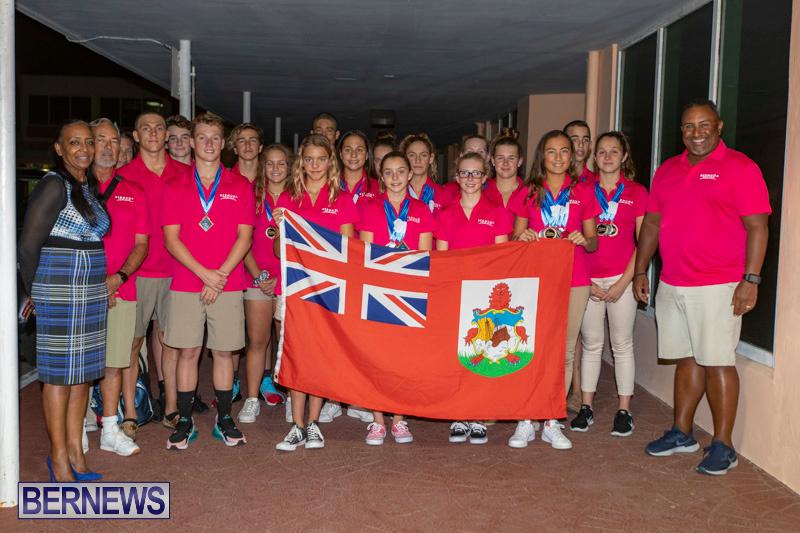 Carifta Swimming Team Airport Bermuda, April 24 2019-3647-2