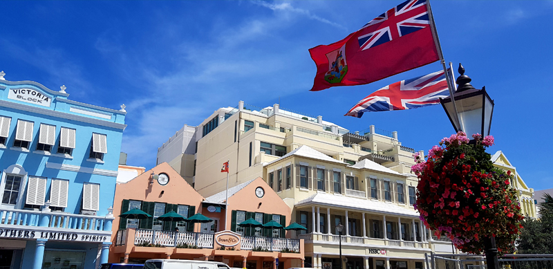 City of Hamilton Bermuda April 24 2019