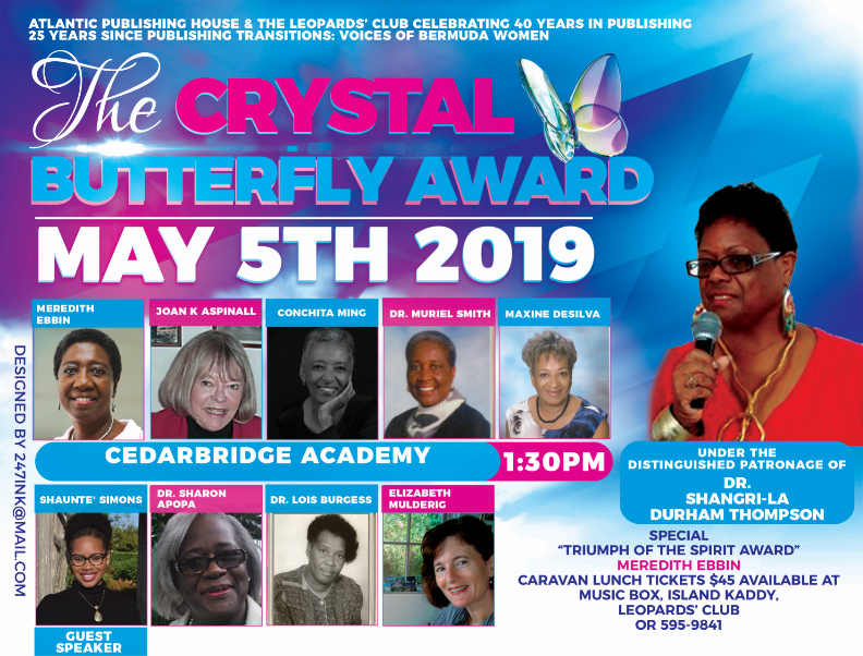 Crystal Butterfly Awards Bermuda May 2019