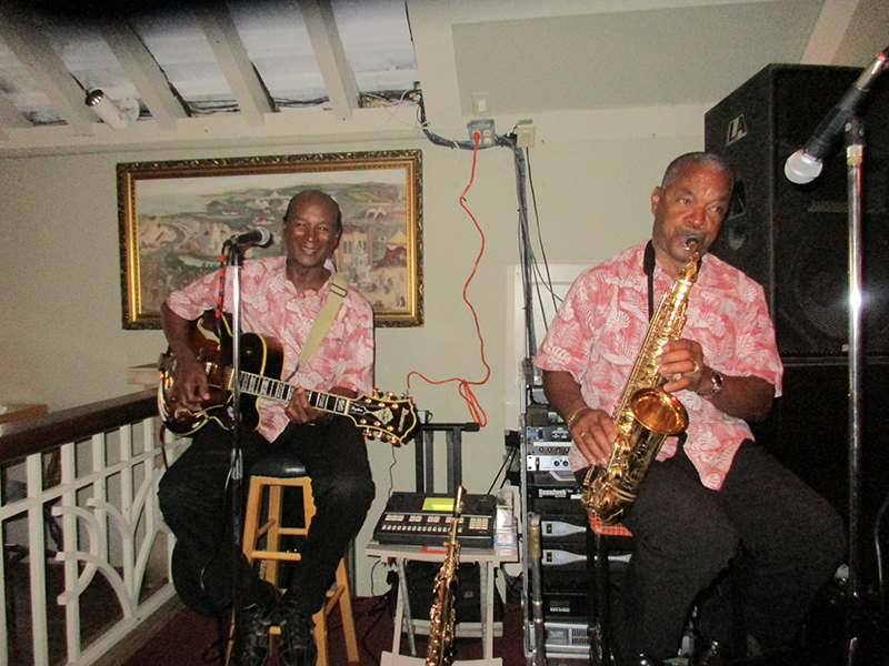 Eugene Joell and Max Maybury Bermuda April 3 2019