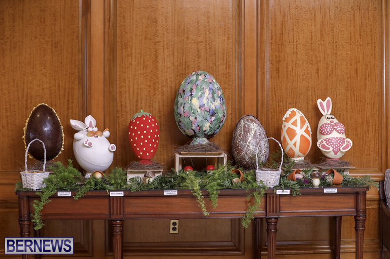 Fairmont Southampton Bermuda Easter Display April 2019 (1)