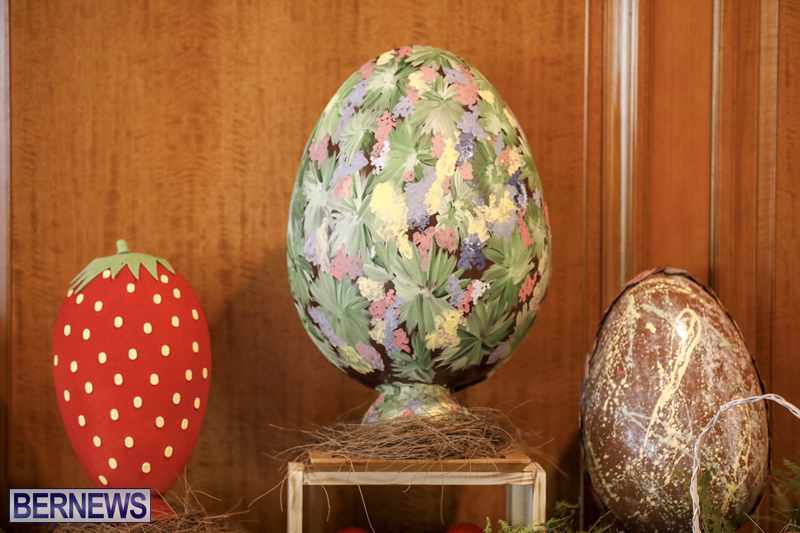 Fairmont Southampton Bermuda Easter Display April 2019 (16)