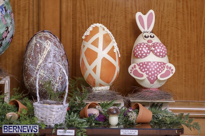 Fairmont Southampton Bermuda Easter Display April 2019 (3)