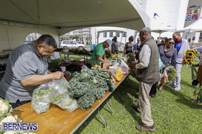 Farmer's Market Eat More Vegetables Bermuda April 10 2019 (4)