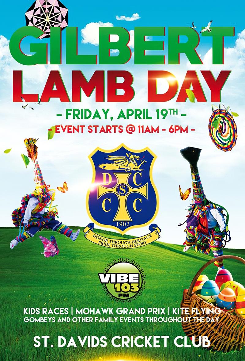 Gilbert Lamb Day Good Friday Bermuda April 19 2019