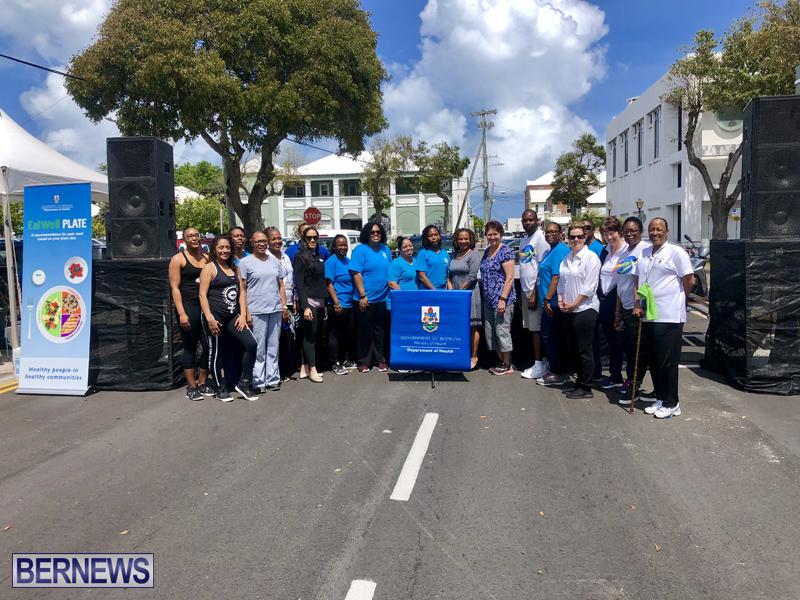 Launch of Public Health Week Bermuda April 8 2019