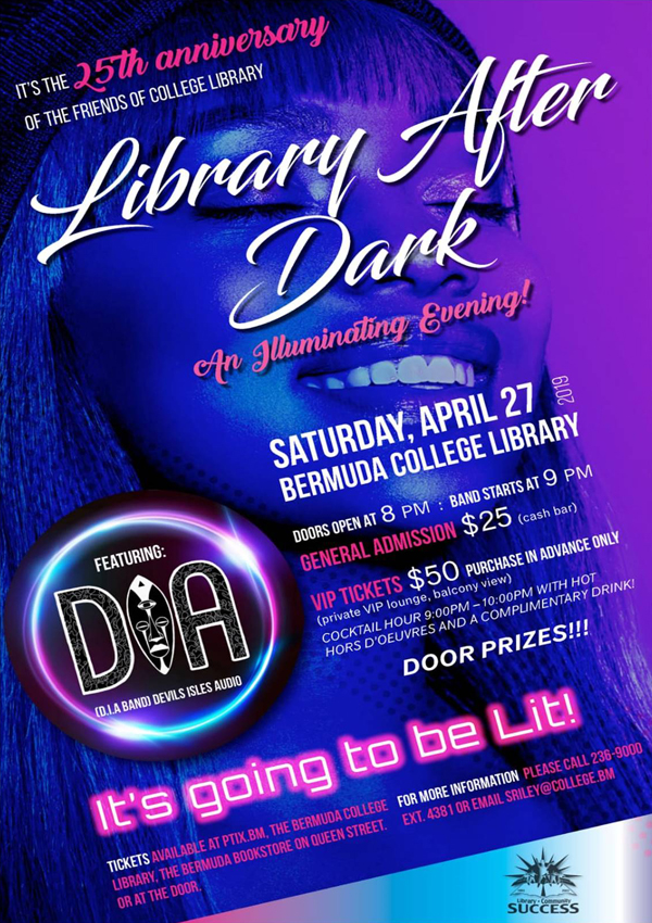 Library After Dark Bermuda April 2019