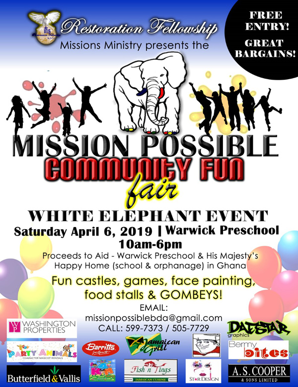 Mission Possible Community Fun Fair Bermuda April 2019