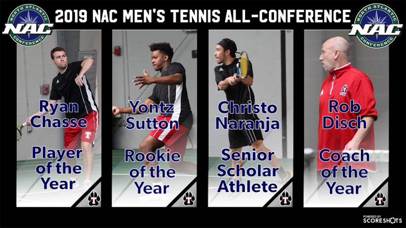 NAC 2019 Men's Tennis All-Conference April 2019