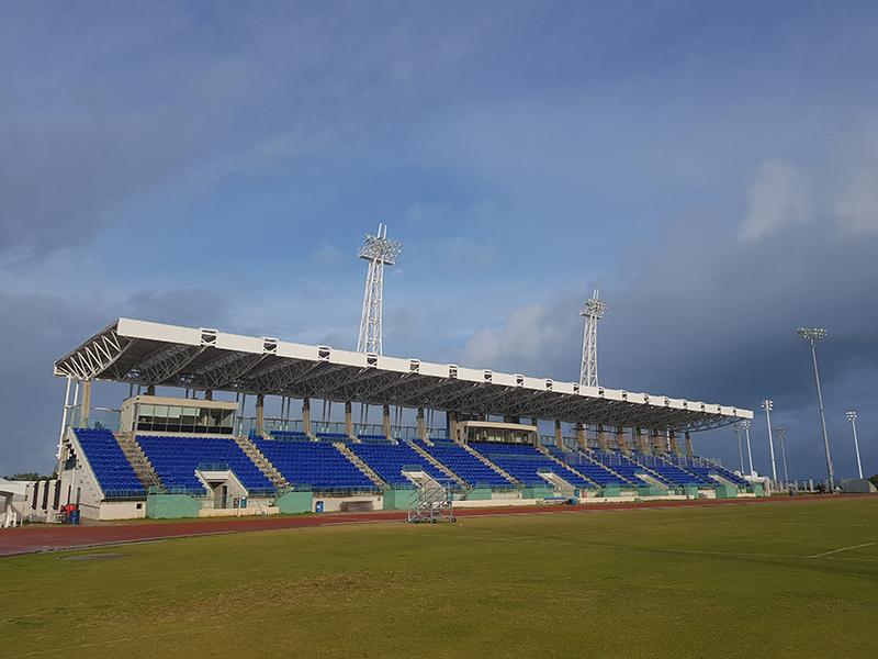 NSC grandstand Bermuda April 3 2019