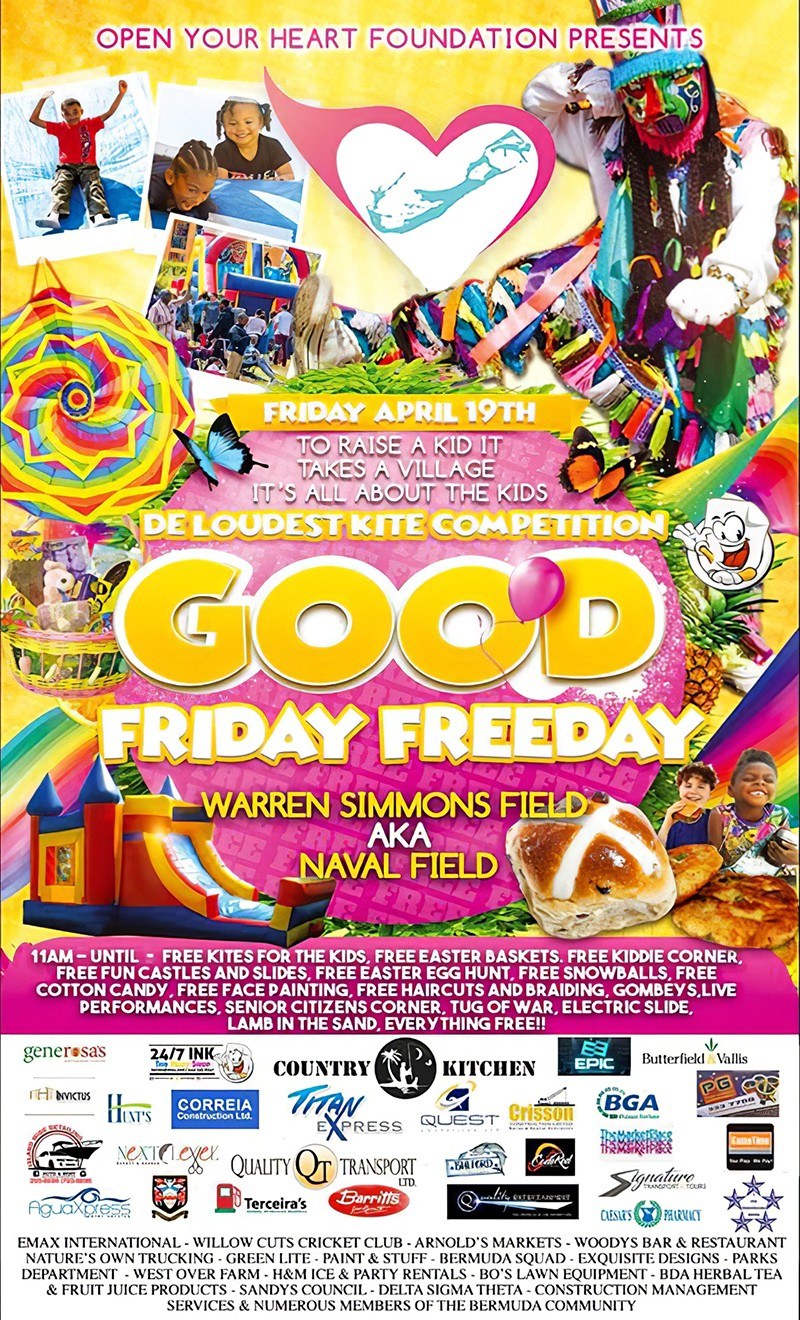 Open Your Heart Foundation Good Friday Bermuda April 19 2019