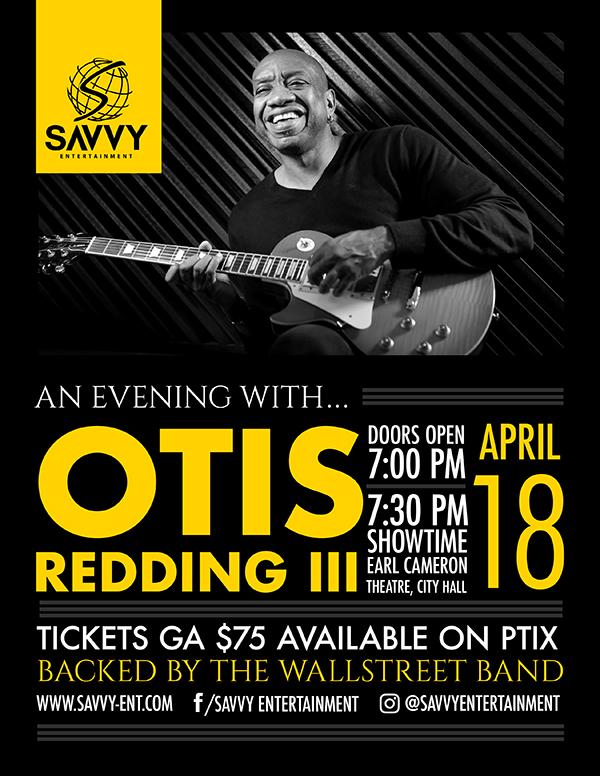 Otis Redding III Bermuda April 12 2019