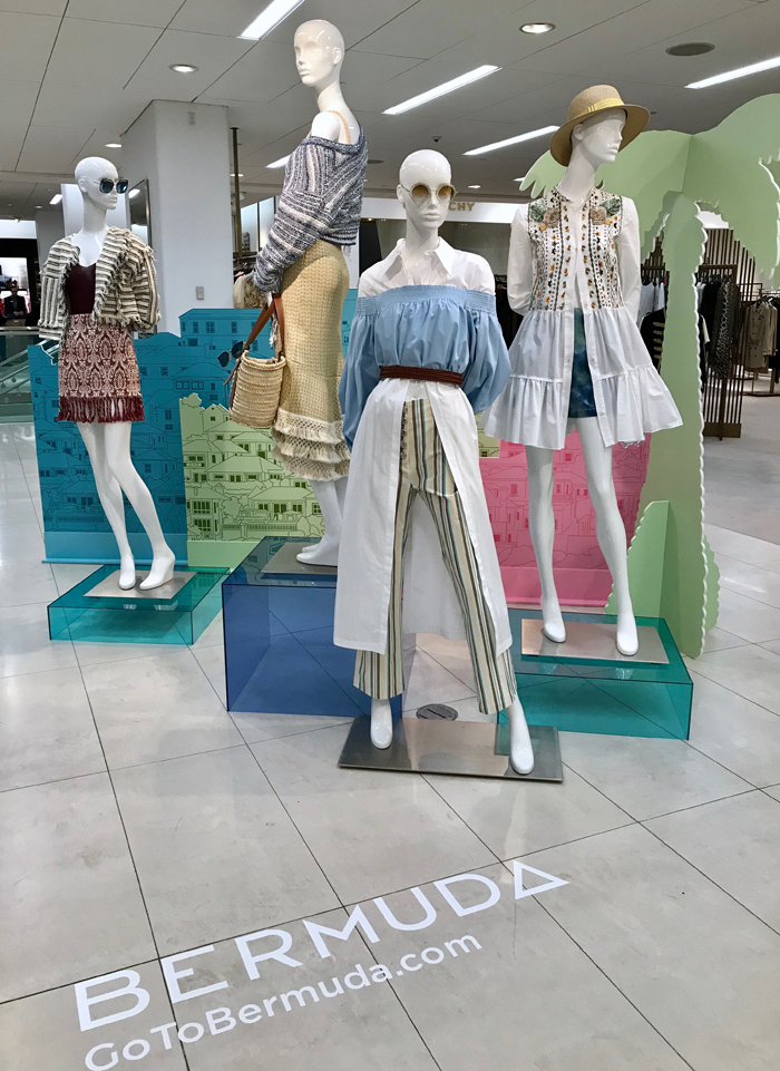 Saks Fifth Avenue Bermuda April 2019