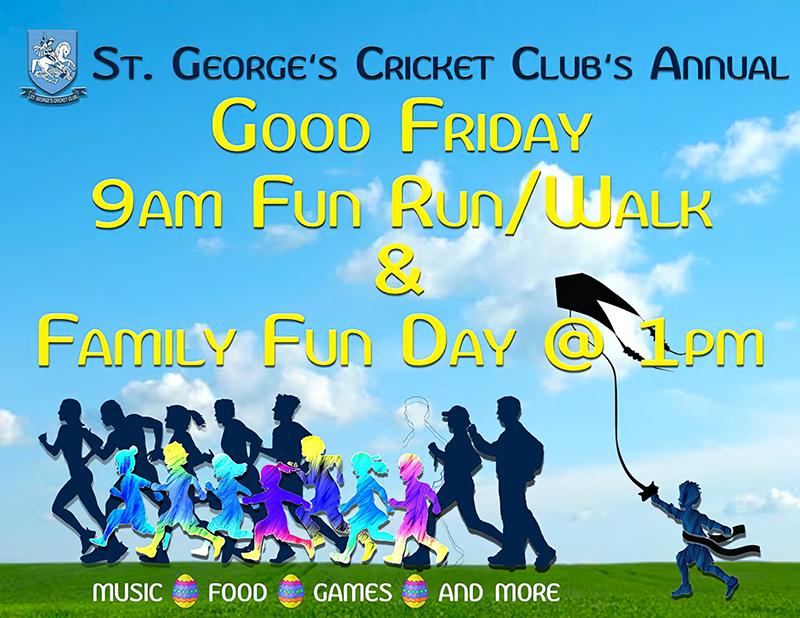 St Georges CC Good Friday Walk Bermuda April 19 2019