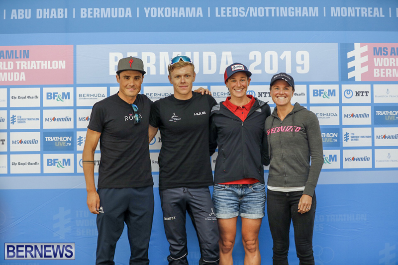 WTS Elite Athlete Press Conference Bermuda April 26 2019