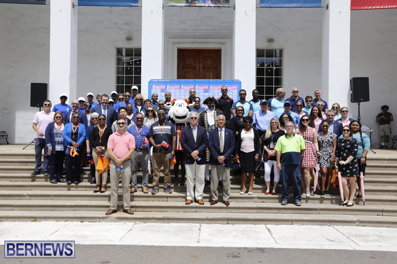 World Triathlon Bermuda Pep Rally April 9 2019
