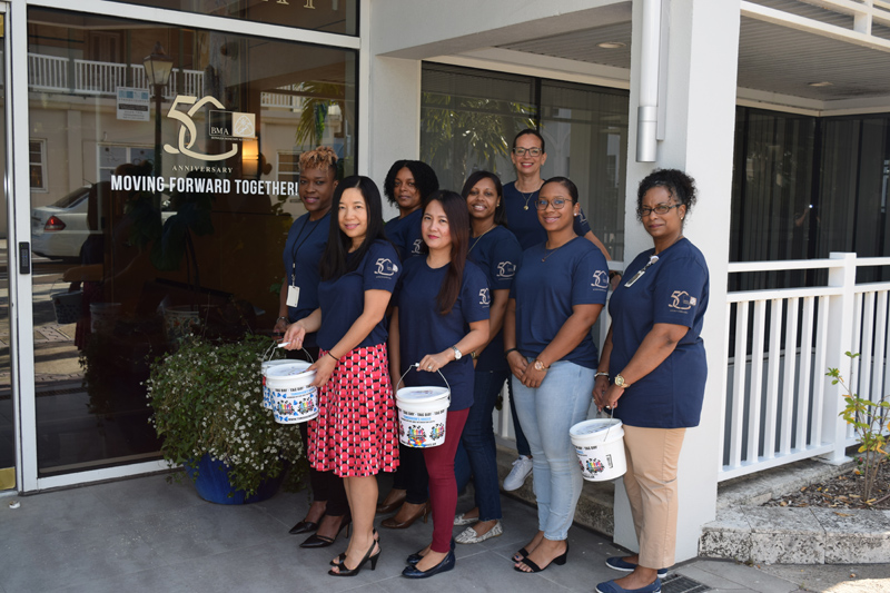 BMA Day of Giving with Tomorrow's Voices Bermuda May 2019