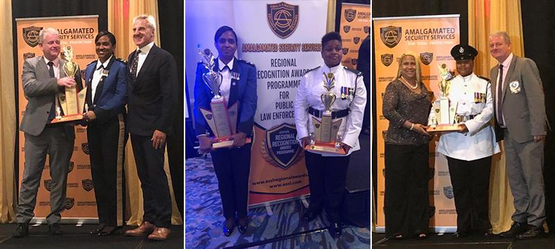 BPS Awardees Superintendent Astwood & Constable Bridgeman Bermuda May 26 2019 TWFB