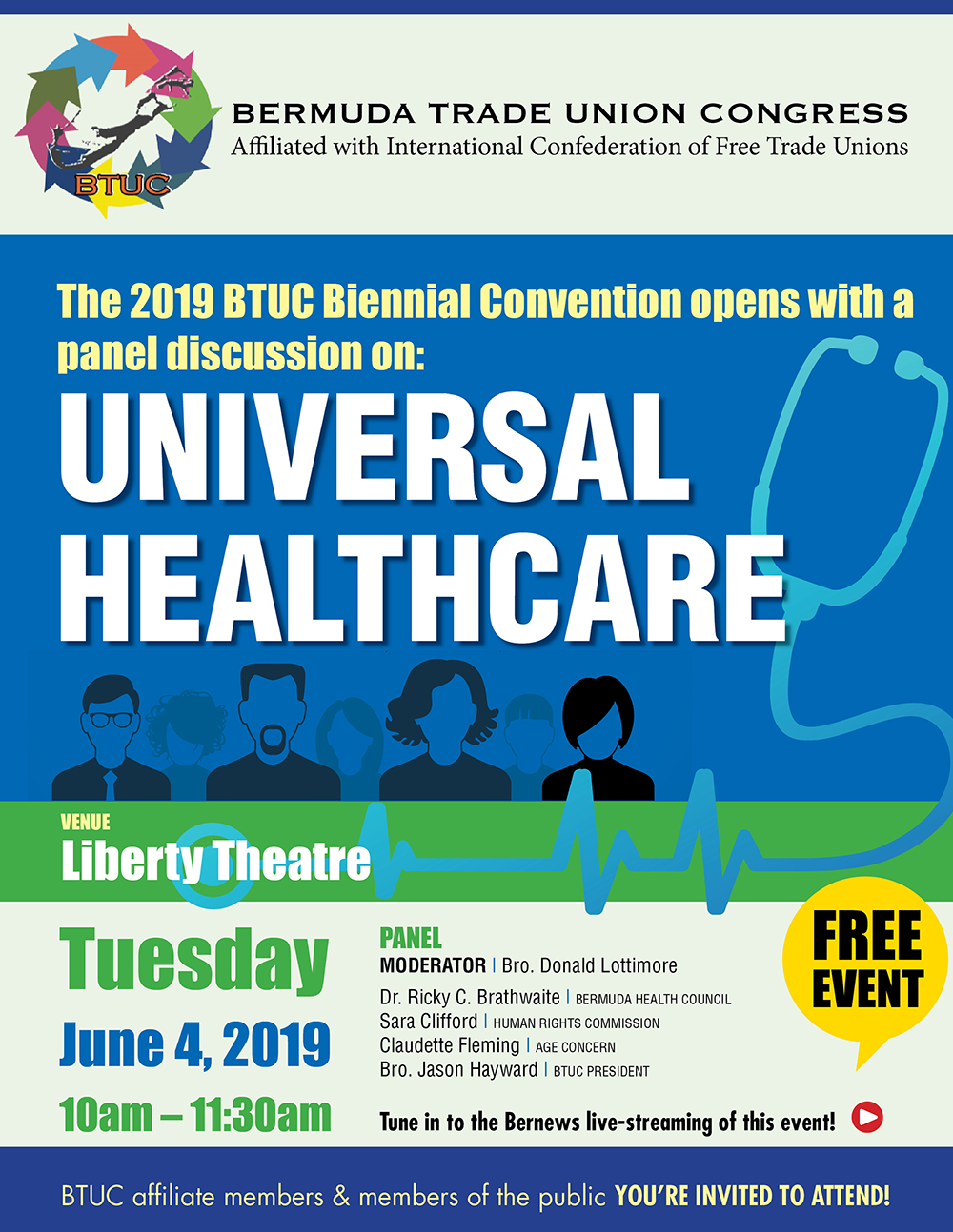 BTUC - 2019 Biennial Convention - Panel Discussion - 4Jun19