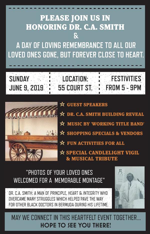Dr CA Smith Commemorative Celebration Bermuda June 2019 (2)
