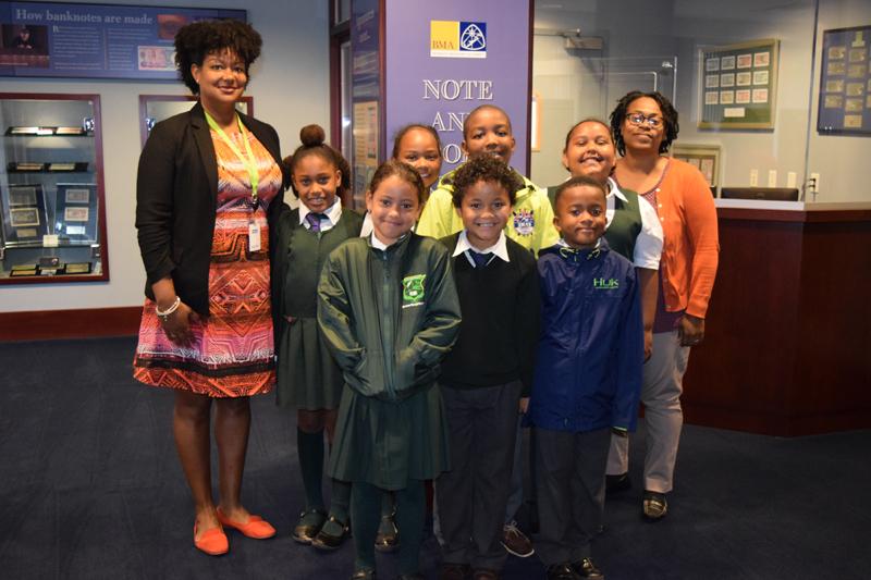 Heron Bay Primary School BMA Tour Bermuda May 2019