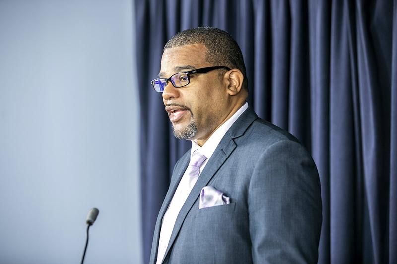 Minister Diallo Rabain Bermuda May 2019