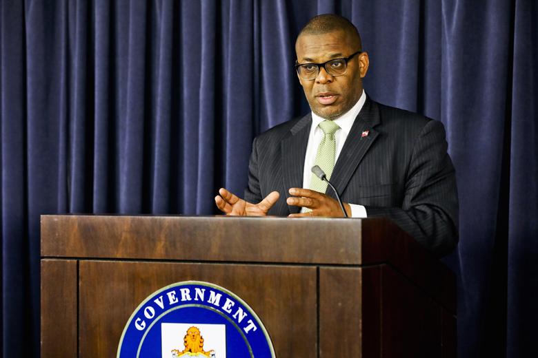 Minister Walter Roban Bermuda May 2019