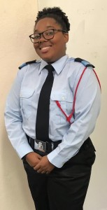 Police Cadet Alnique Young-Looby Bermuda May 2019